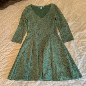 Flowy Green Dress